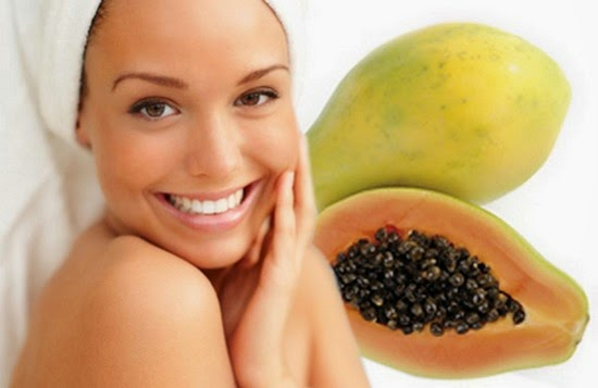 Papaya face pack  argvwef
