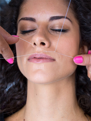 threading-upper-lip-hair